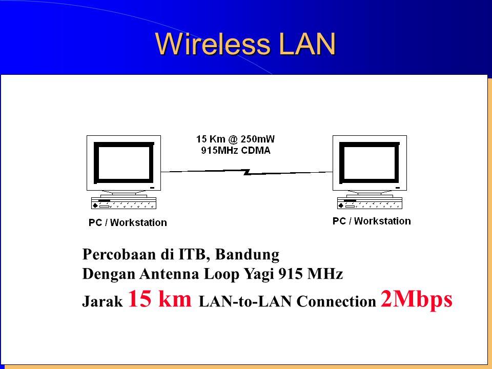 Wireless LAN Percobaan di ITB, Bandung