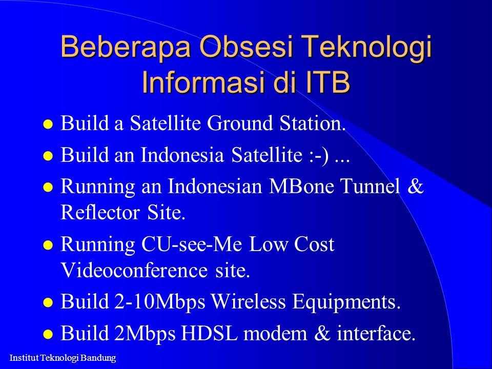 Beberapa Obsesi Teknologi Informasi di ITB