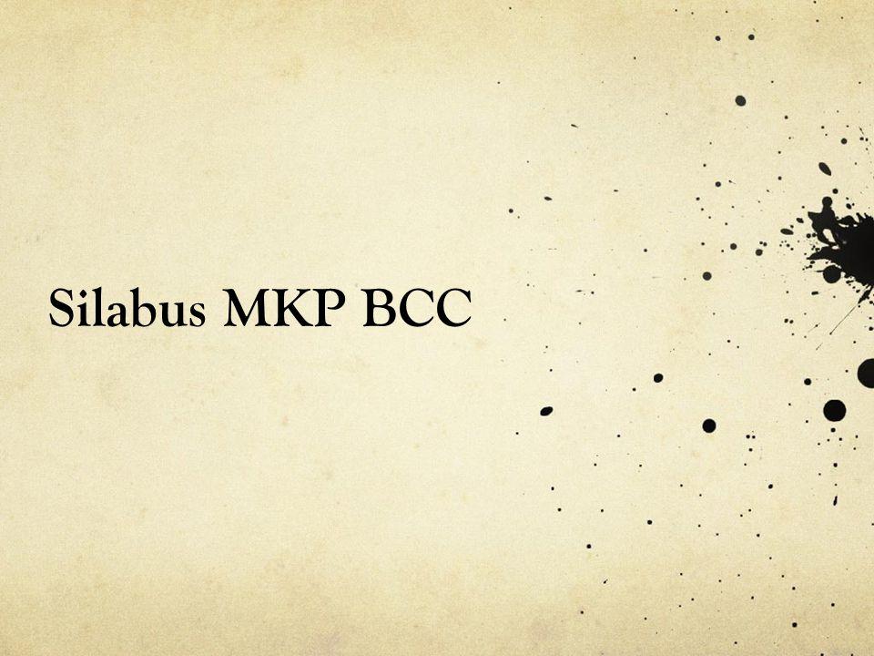Silabus MKP BCC