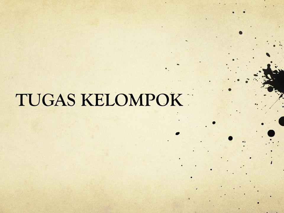 TUGAS KELOMPOK