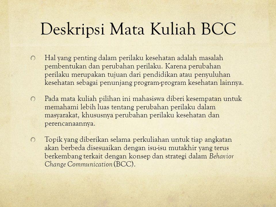 Deskripsi Mata Kuliah BCC