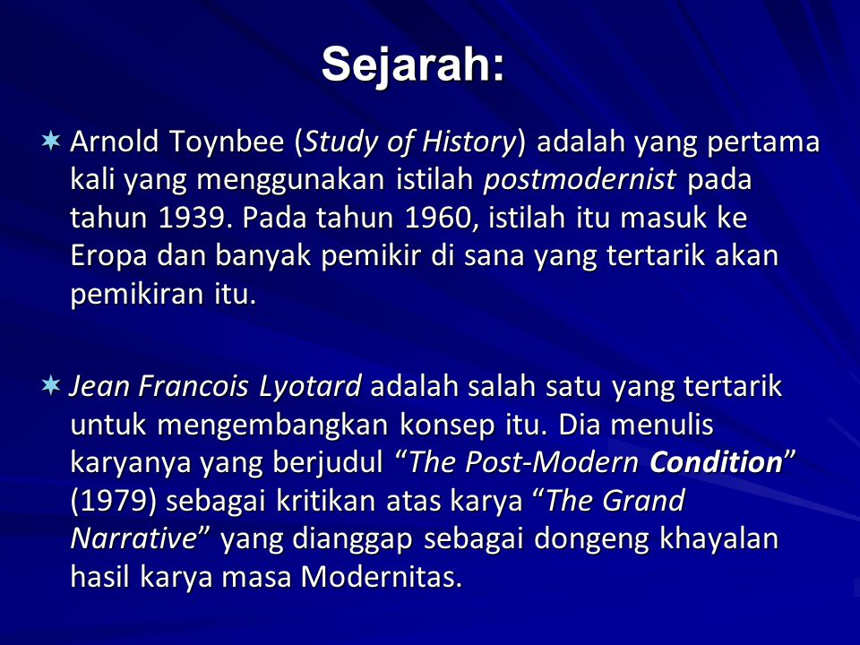 Sejarah: