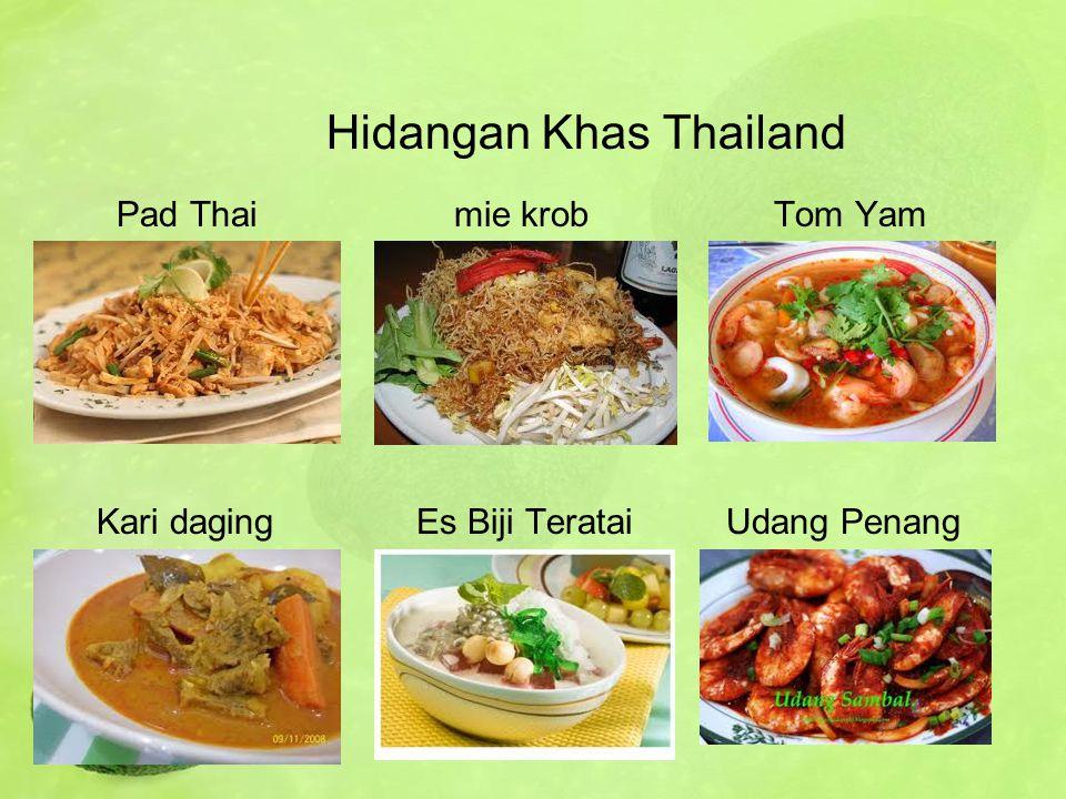 Hidangan Khas Thailand