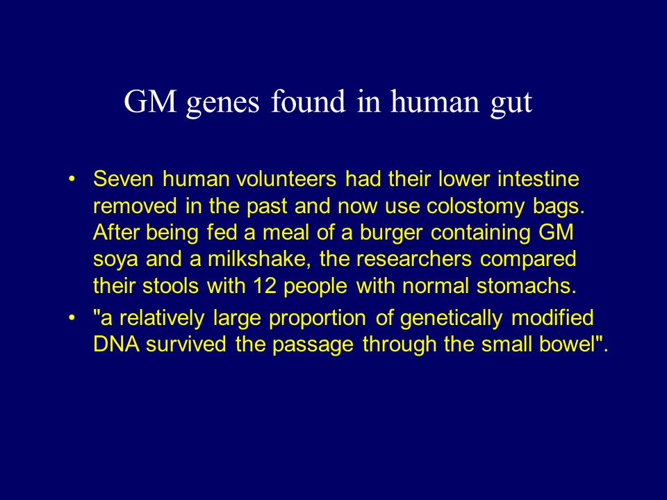 GM genes found in human gut