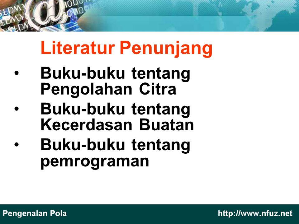 Literatur Penunjang Buku-buku tentang Pengolahan Citra