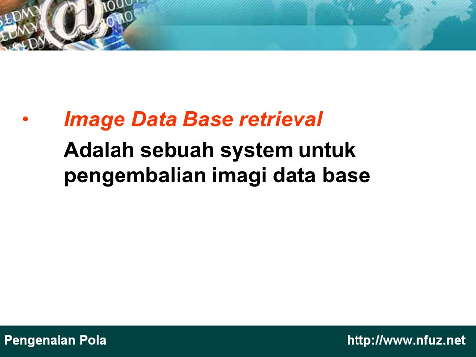 Image Data Base retrieval