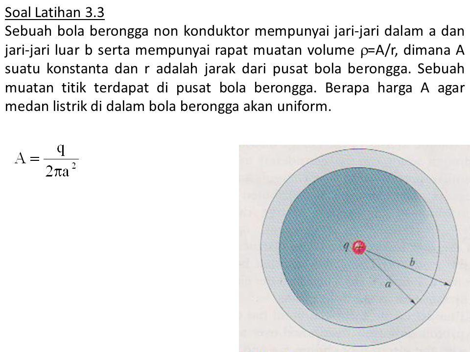 Soal Latihan 3.3