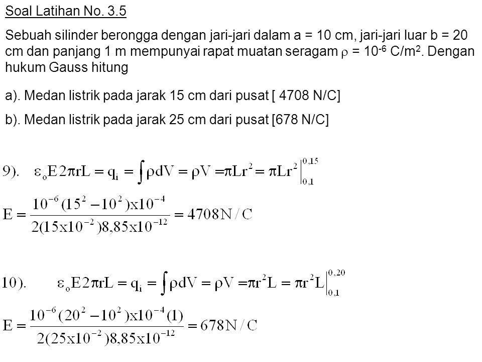 Soal Latihan No. 3.5
