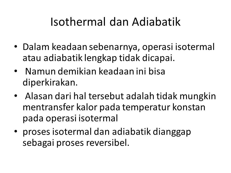 Isothermal dan Adiabatik