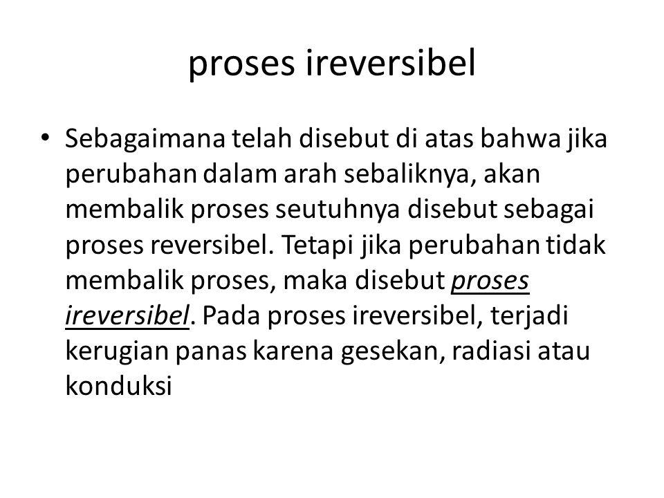 proses ireversibel