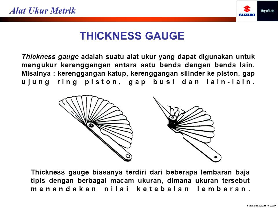 THICKNESS GAUGE / PULLER