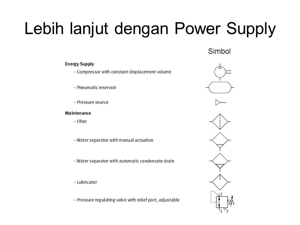 Lebih lanjut dengan Power Supply