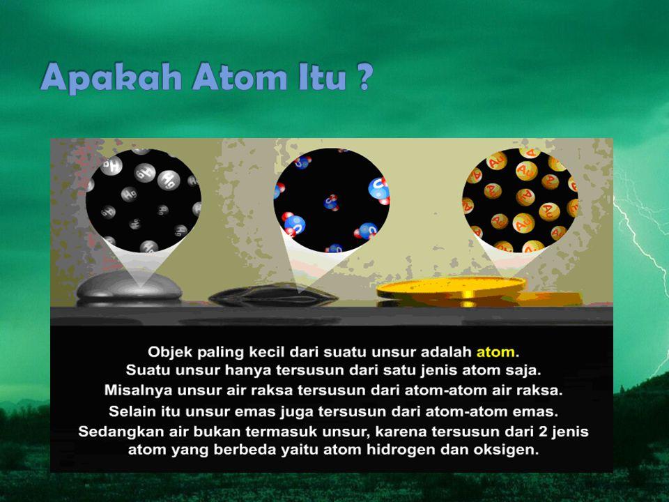 Apakah Atom Itu