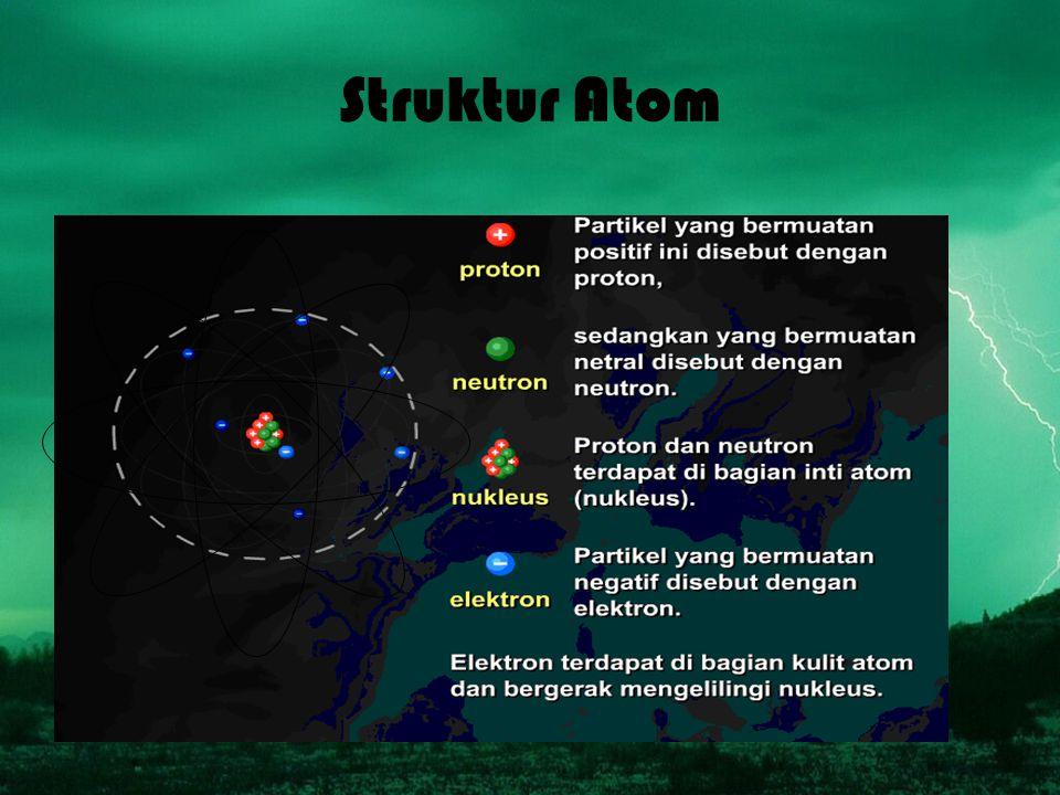 Struktur Atom