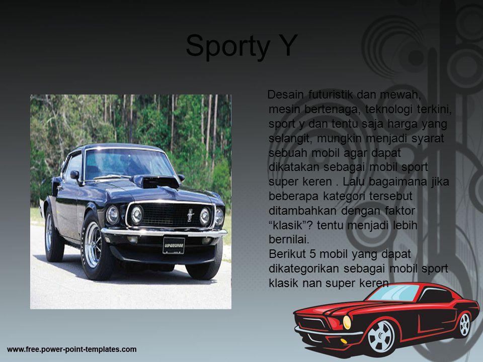 Sporty Y