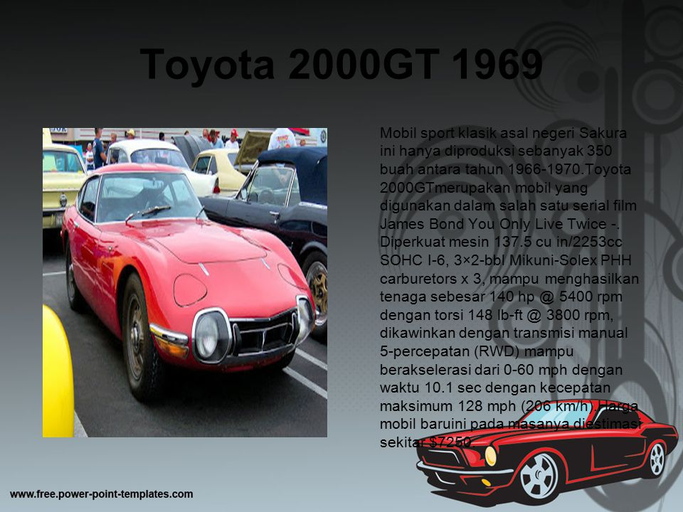 Toyota 2000GT 1969