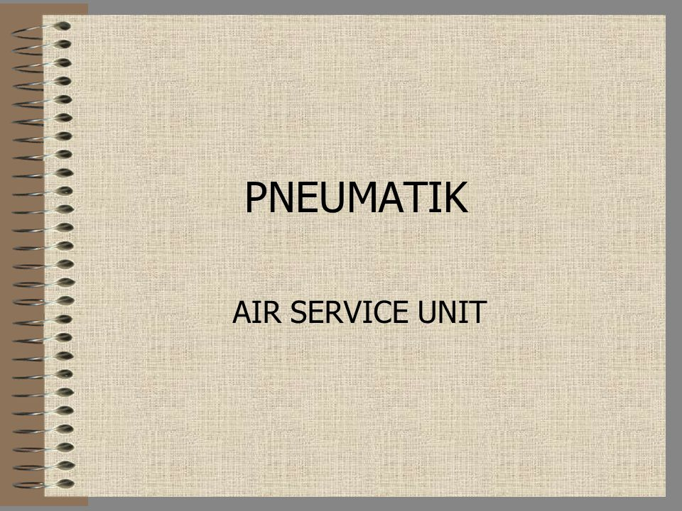 PNEUMATIK AIR SERVICE UNIT