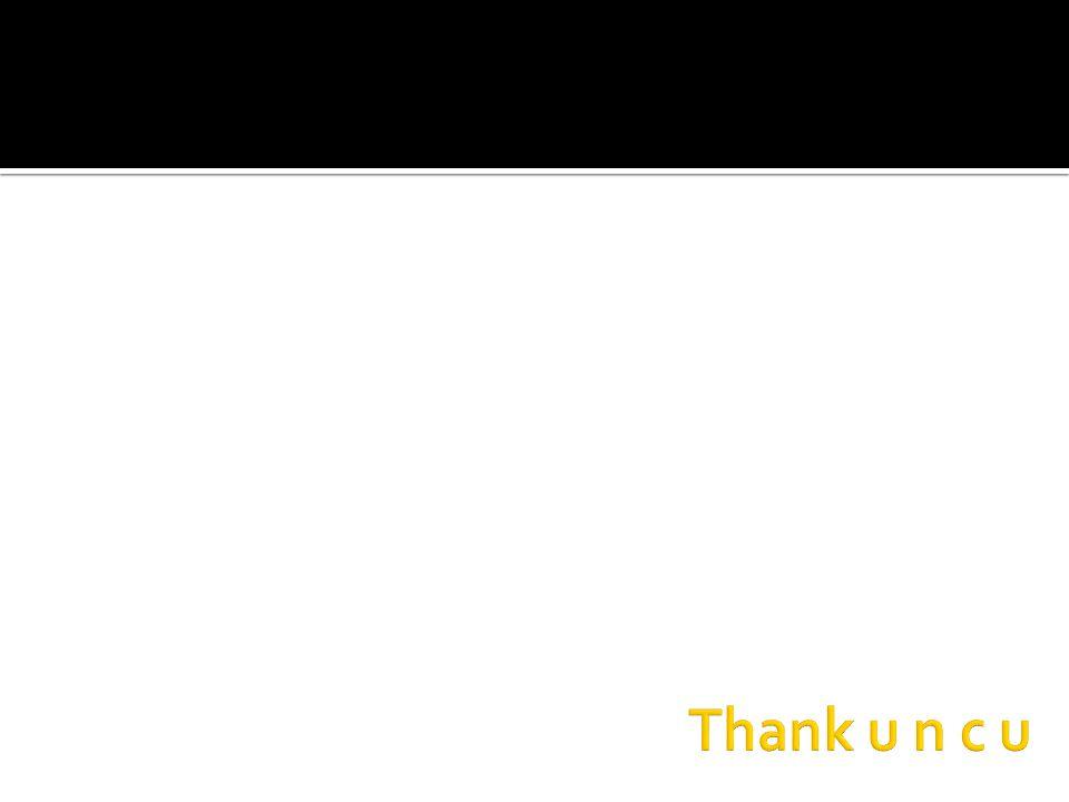 Thank u n c u