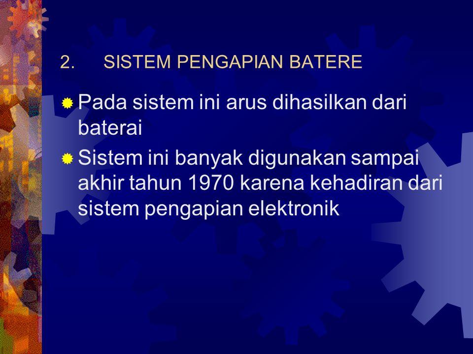 SISTEM PENGAPIAN BATERE