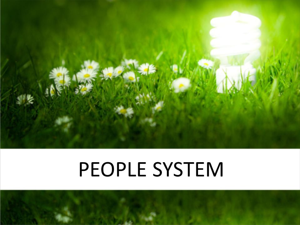 PEOPLE System