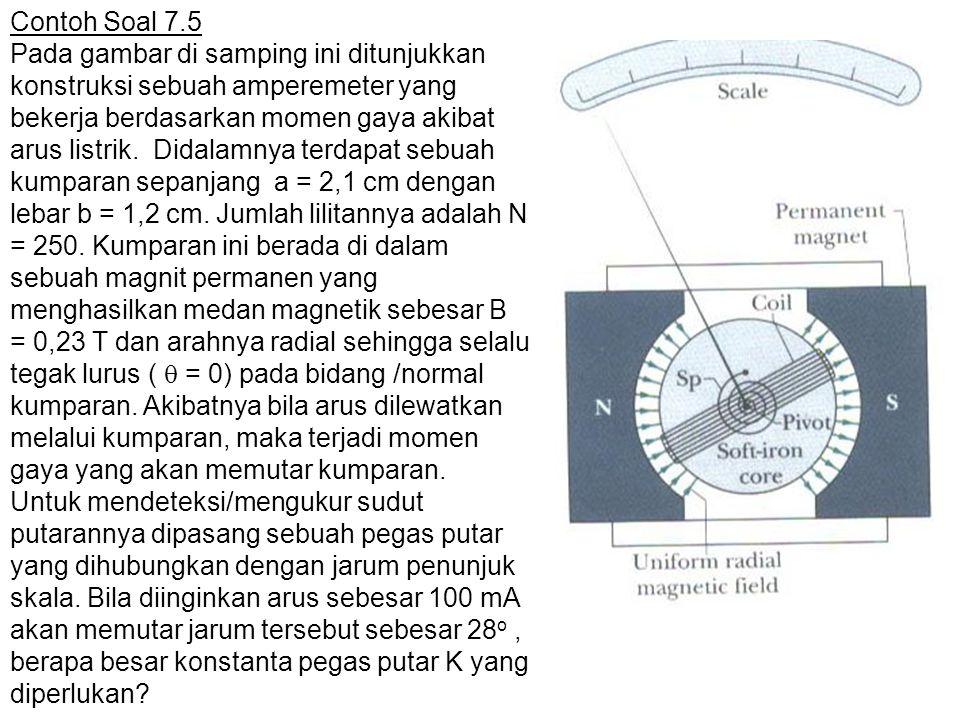 Contoh Soal 7.5