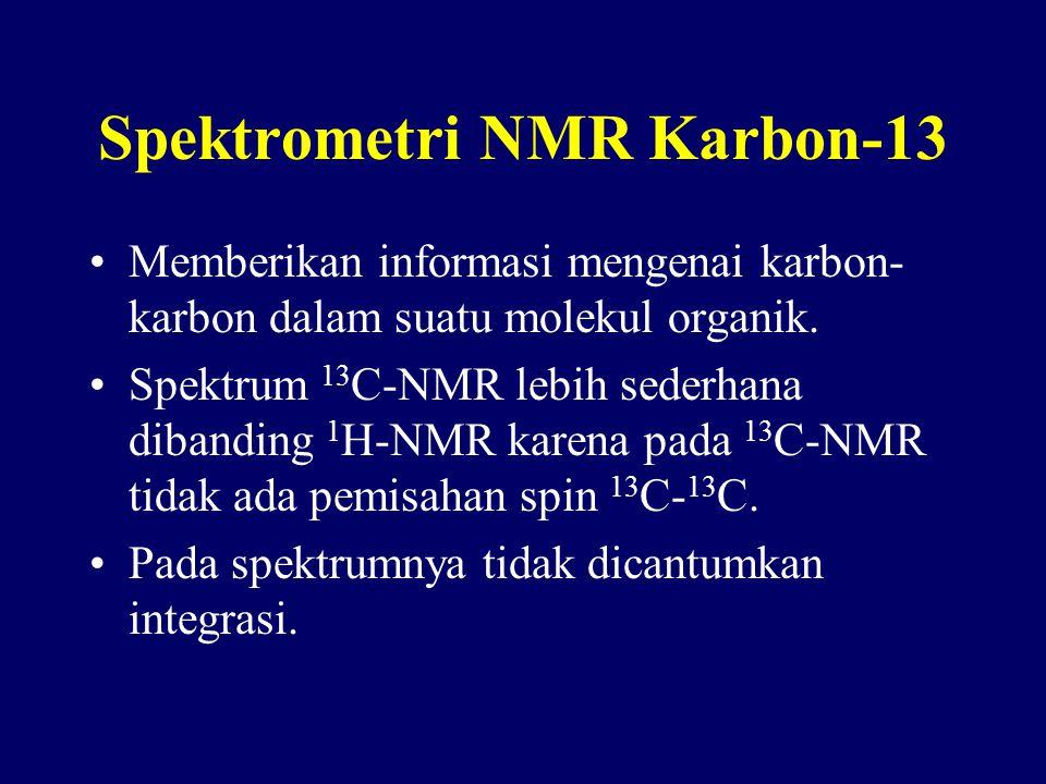 Spektrometri NMR Karbon-13