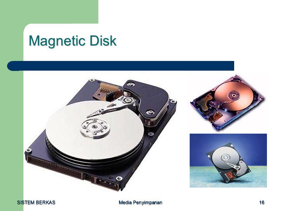 Magnetic Disk SISTEM BERKAS Media Penyimpanan