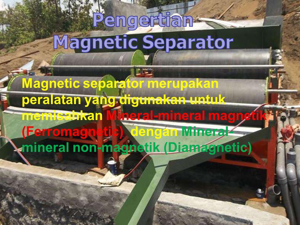 Pengertian Magnetic Separator