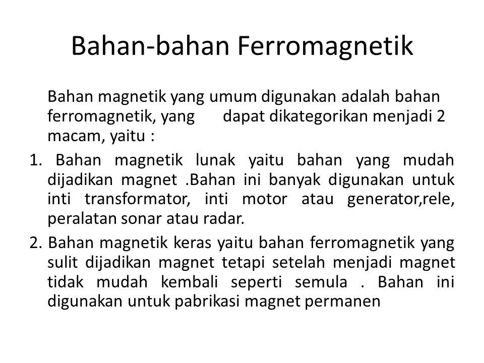 Bahan-bahan Ferromagnetik