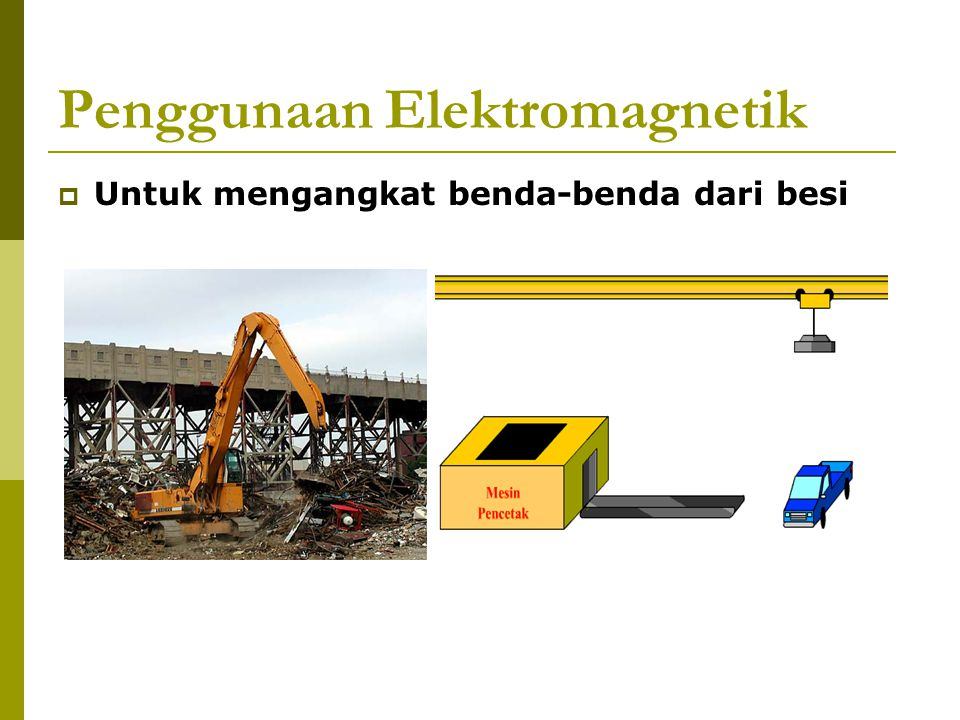 Penggunaan Elektromagnetik