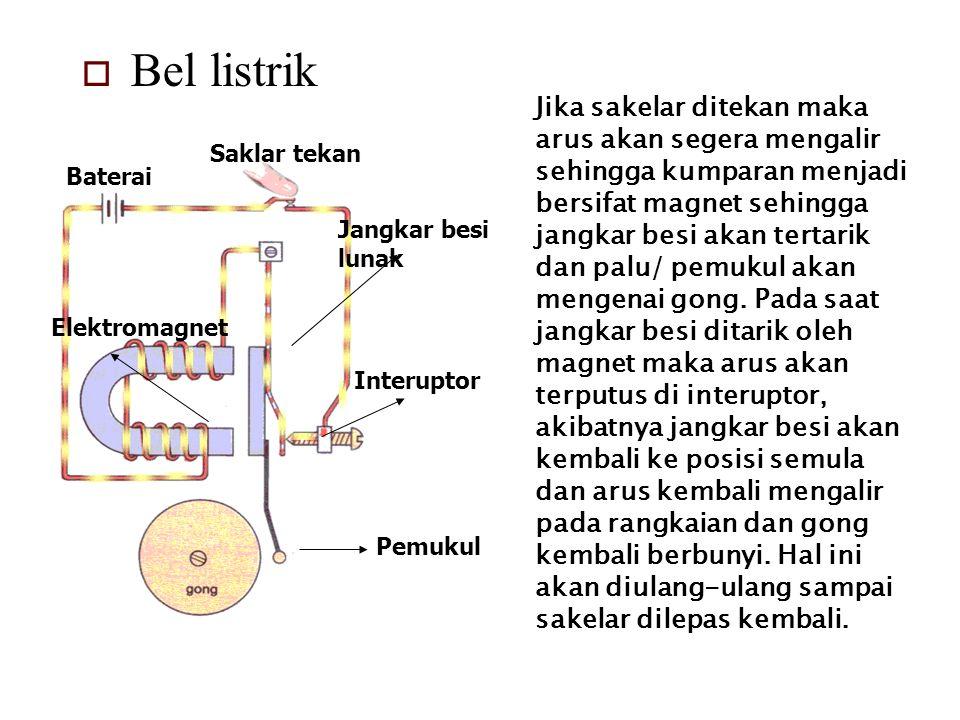 Bel listrik