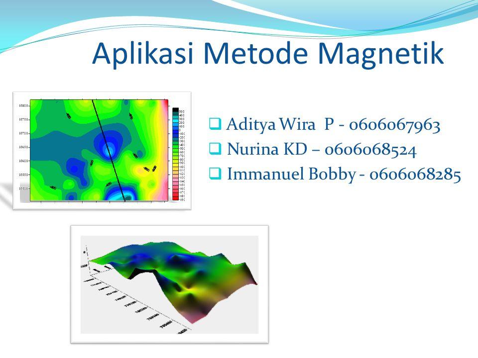 Aplikasi Metode Magnetik