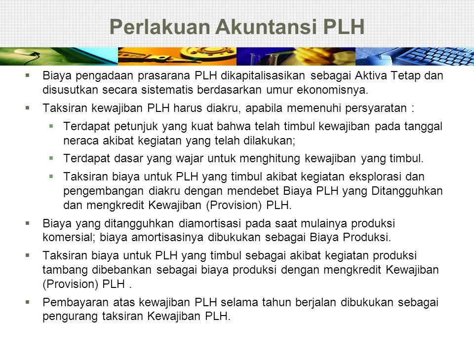 Perlakuan Akuntansi PLH