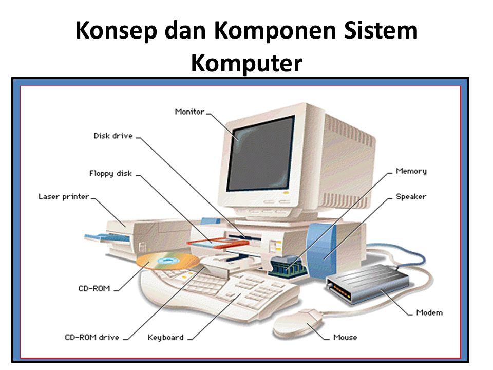 Konsep dan Komponen Sistem Komputer