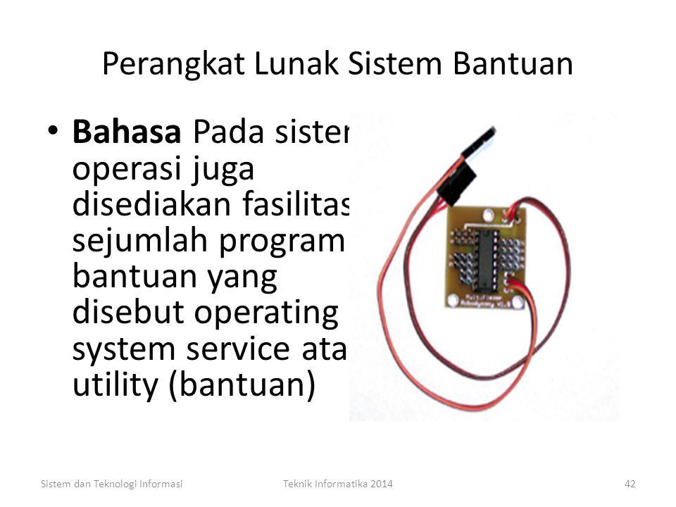 Perangkat Lunak Sistem Bantuan