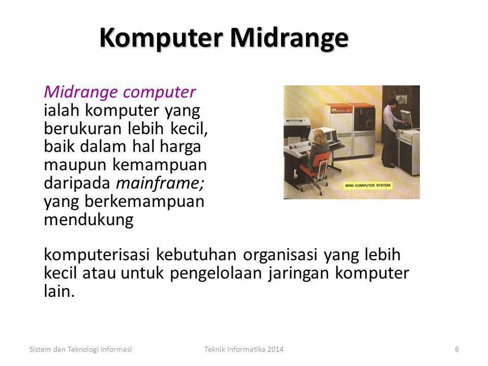 Komputer Midrange