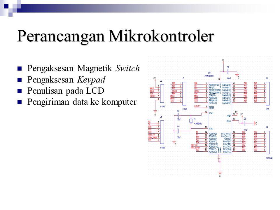 Perancangan Mikrokontroler