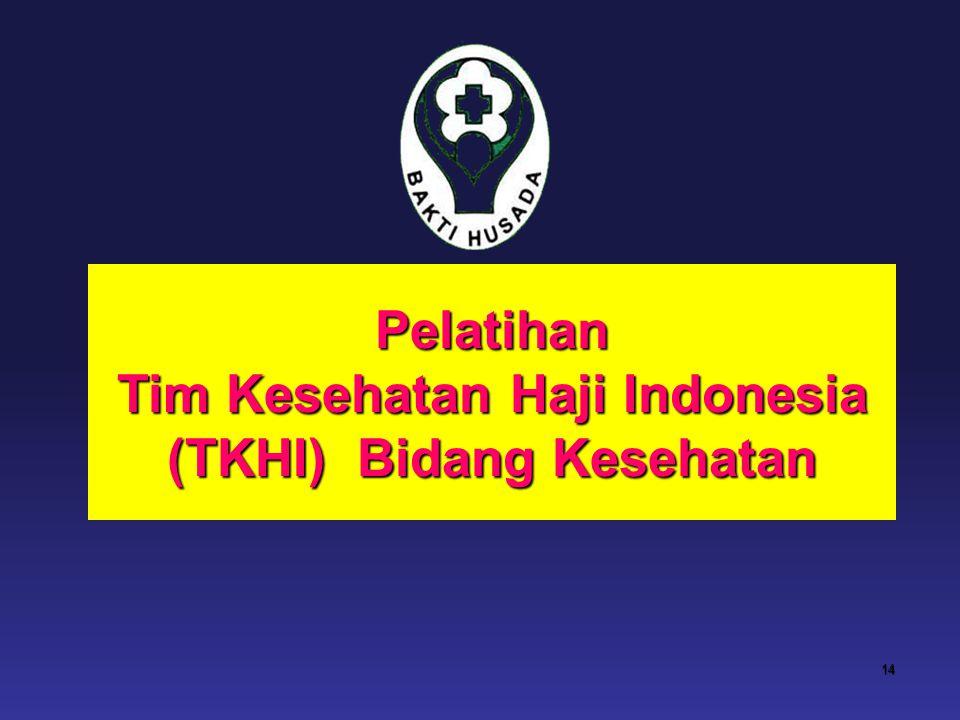 Tim Kesehatan Haji Indonesia (TKHI) Bidang Kesehatan