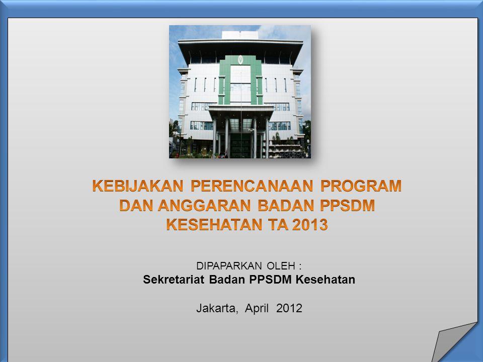 Sekretariat Badan PPSDM Kesehatan