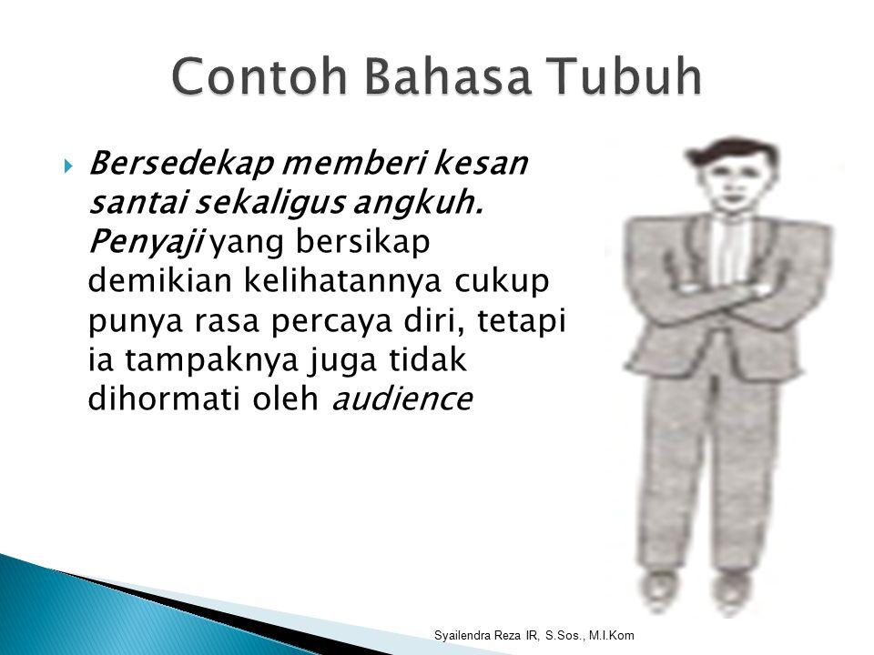 Contoh Bahasa Tubuh