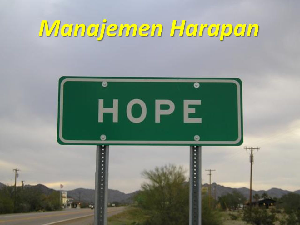 Manajemen Harapan