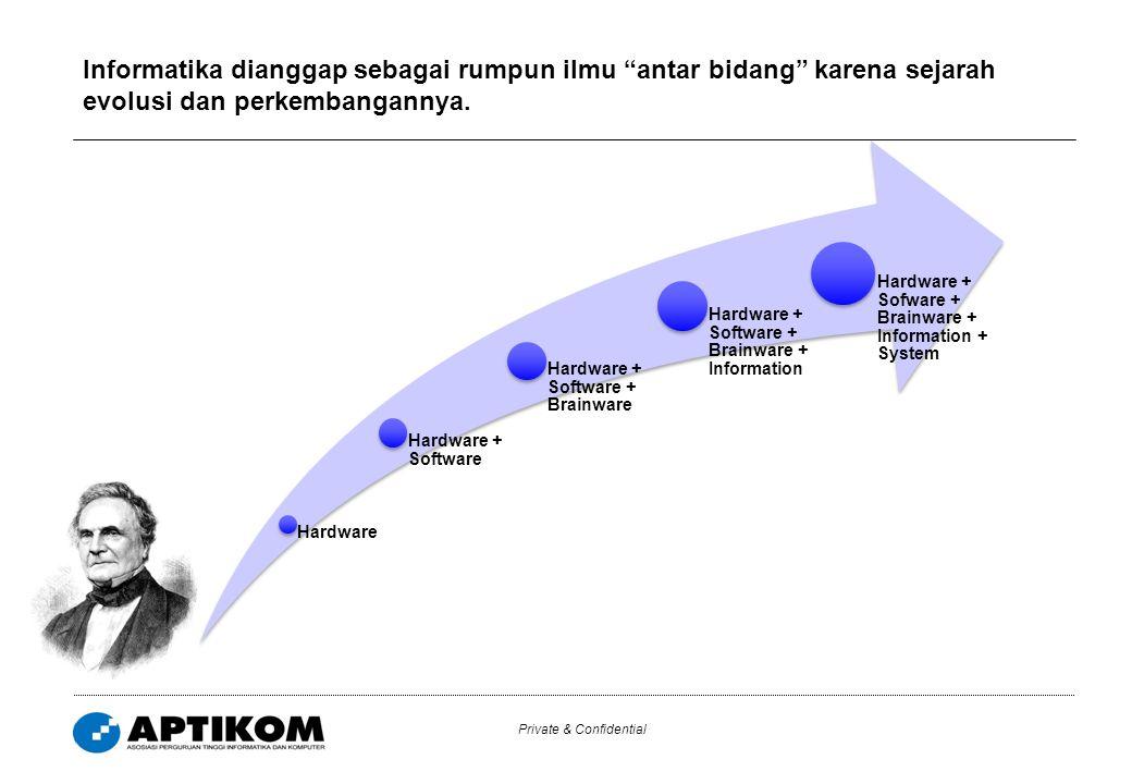 Perkembangan bidang keilmuan yang dinamis telah pula mewarnai platform program studi dan kurikulum yang diterapkan di Indonesia.