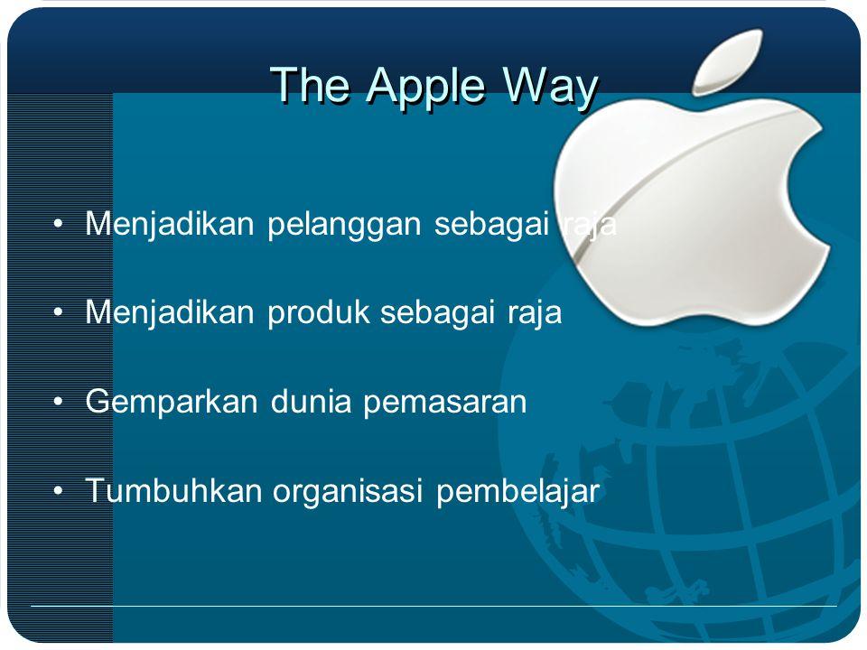 The Apple Way Menjadikan pelanggan sebagai raja