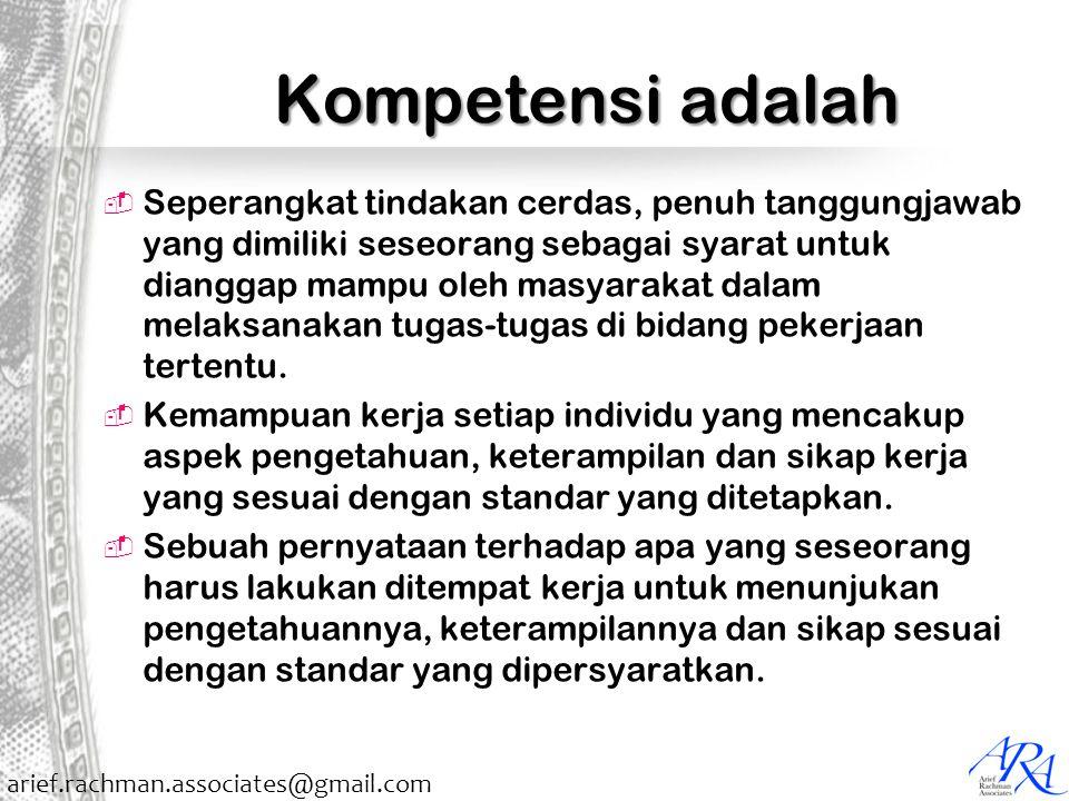 Kompetensi adalah