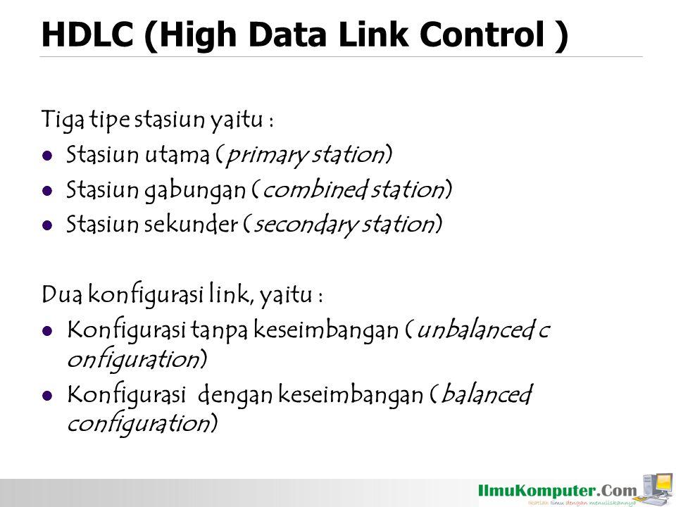 HDLC (High Data Link Control )