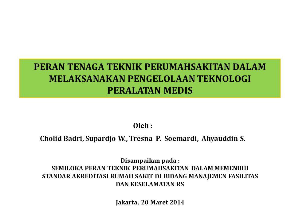 Cholid Badri, Supardjo W., Tresna P. Soemardi, Ahyauddin S.