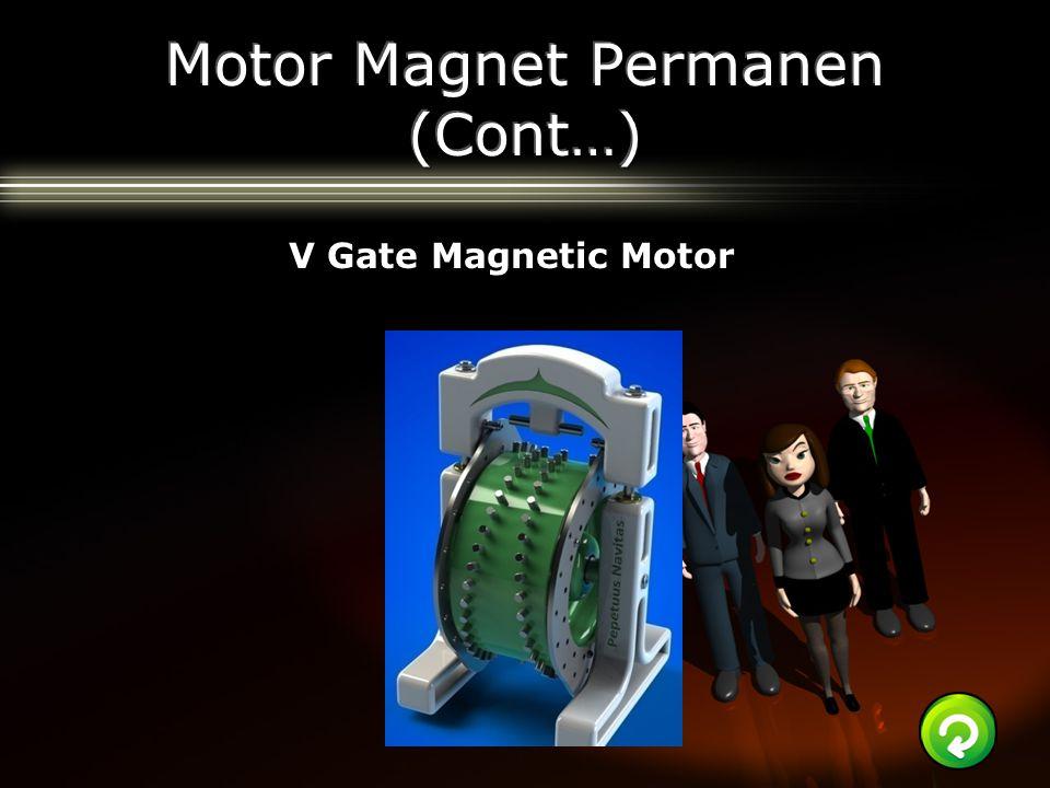 Motor Magnet Permanen (Cont…)