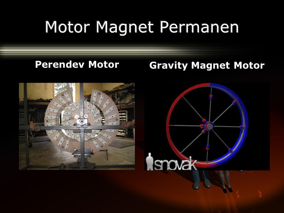 Motor Magnet Permanen Perendev Motor Gravity Magnet Motor