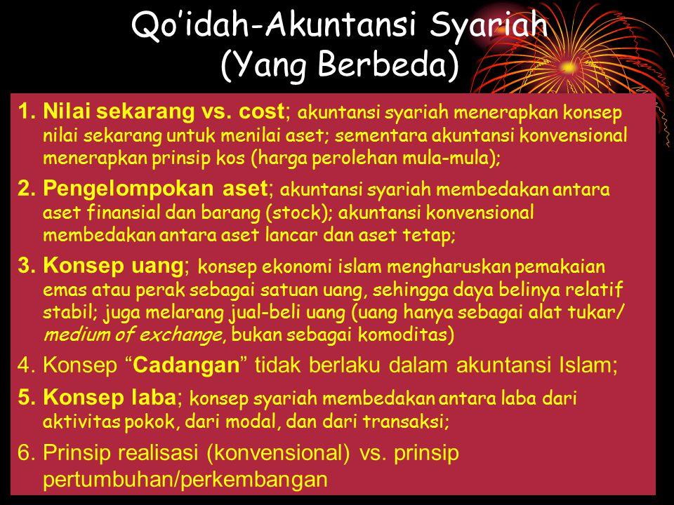 Qo'idah-Akuntansi Syariah (Yang Berbeda)