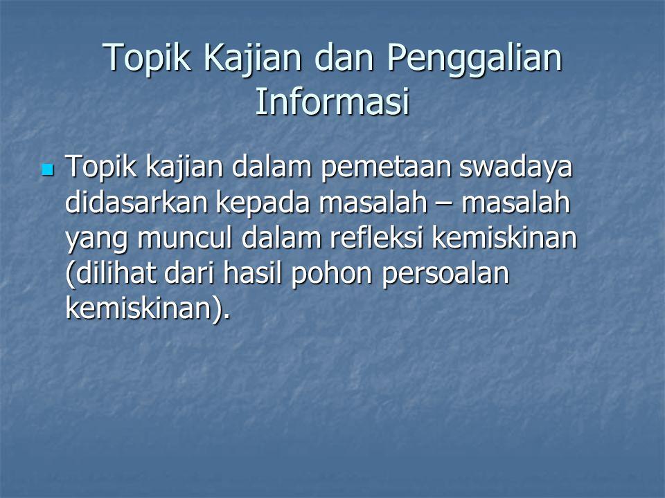 Topik Kajian dan Penggalian Informasi